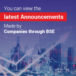 BSE – Latest Announcements